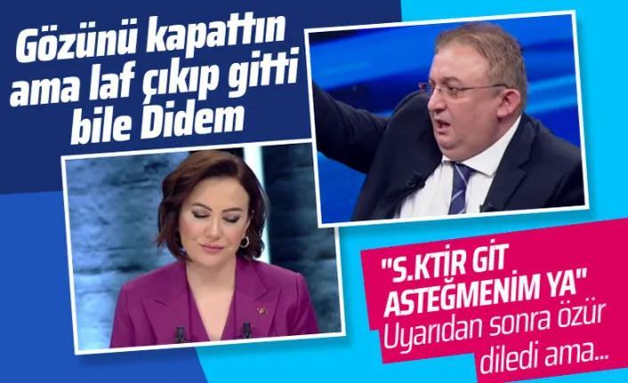 Hukukçu Faik Işık Habertürk canlı yayınında küfür etti