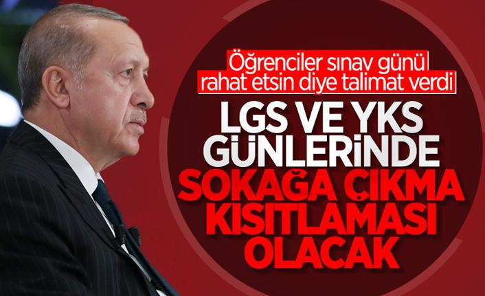 Bakan Fahrettin Koca: 'LGS ve YKS saatlerinde sokağa çıkma kısıtlaması olacak'