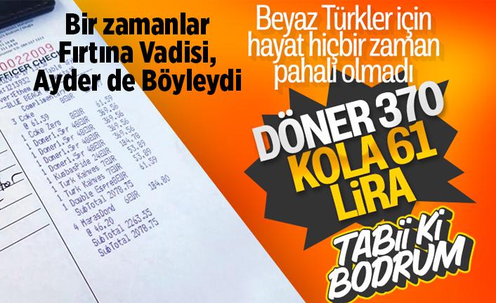 Bodrum'da tatilcilere fahiş fiyat devam ediyor