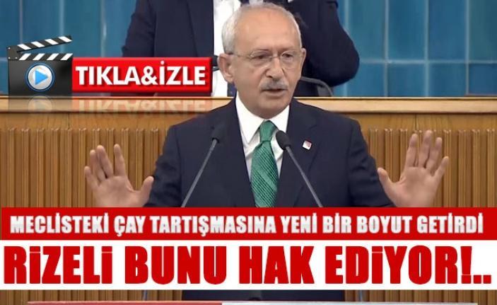Kılıçdaroğlu Bak'a gönderme yaptı ''Rizeli bunu hak ediyor!..''