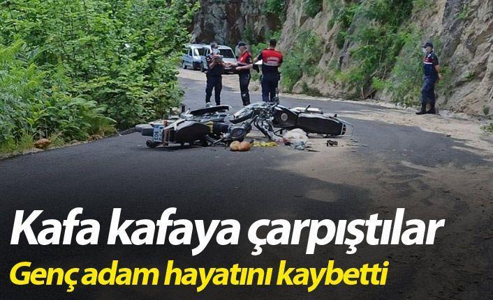 Motorsiklet Kazası 1 Ölü