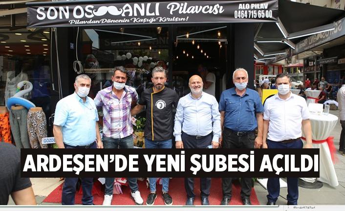 Ardeşen'de Son Osmanlı Pilavcısı Yeni Şubesini Açtı