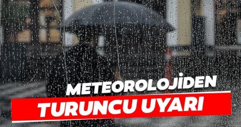 Meteoroloji'den Rize  İçin Turuncu Uyarı!