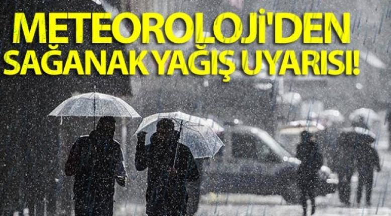 Orta ve Doğu Karadeniz İçin Yağış Uyarısı