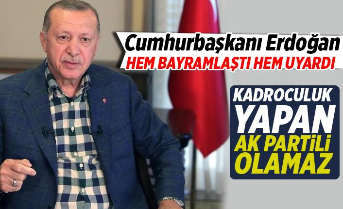 Erdoğan Teşkilat ile bayramlaştı ve konuşmasında uyardı...