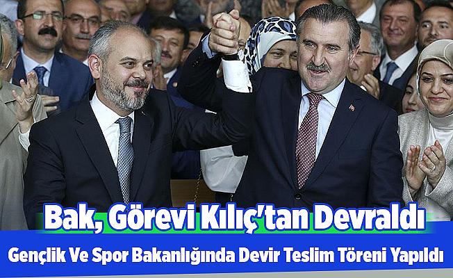 Osman Aşkın BAK, Görevi Devraldı ( vidyo haber)